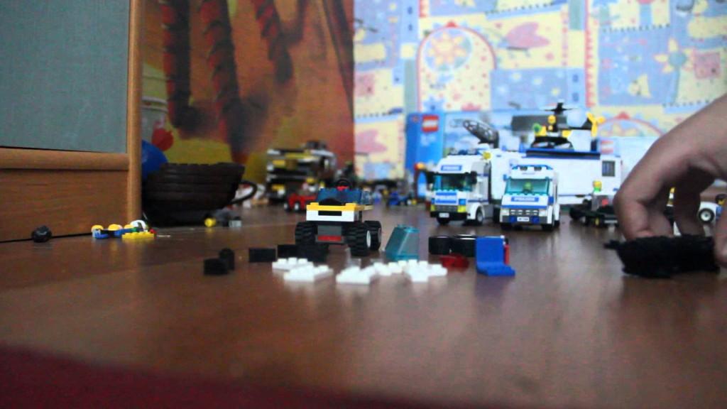 Строительство лего города часть 2