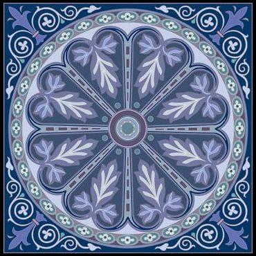 синий фон 1
